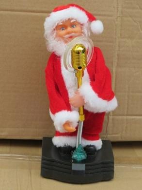 Mikołaj na baterie KM11707