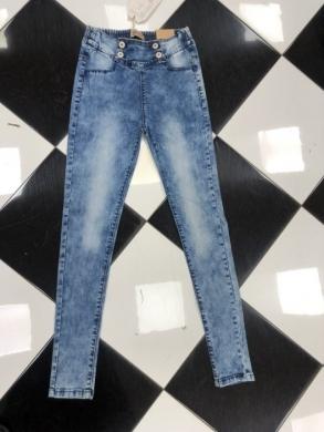 Spodnie Jeansowe Dziewczęce (134-164) TP509