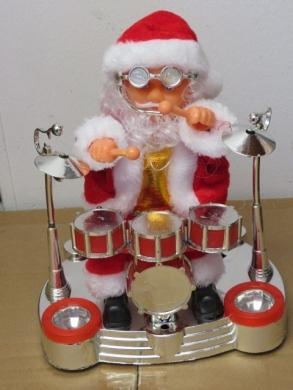 Mikołaj na baterie KM11712