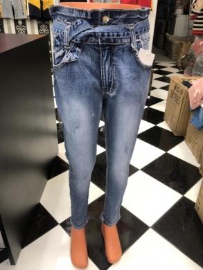 Spodnie Jeansowe Dziewczęce (4-12) TP520