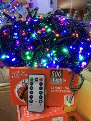Lampki ( 500 Led  ) z pilotem -TP223