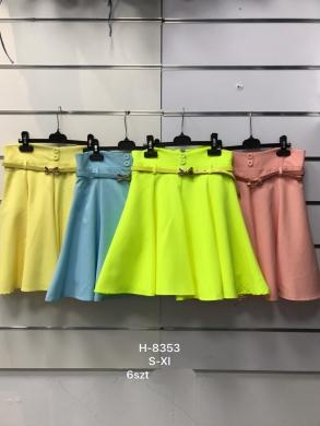 Spódnice damskie materiałowe (S-XL) NL2008