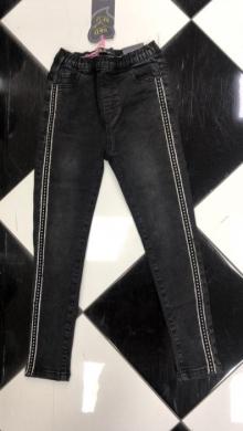 Spodnie Jeansowe Dziewczęce (4-12) TP510