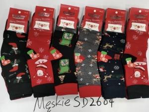 Skarpety świąteczne męskie (39-46) KM12953
