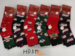 Skarpety świąteczne damskie (35-42) KM12944