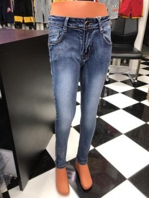 Spodnie Jeansowe Dziewczęce (4-12) TP516