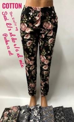 Spodnie alladynki damskie (XL-6XL) NL2874