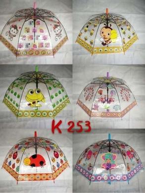 Parasol laska półautomat dla dzieci KM12892
