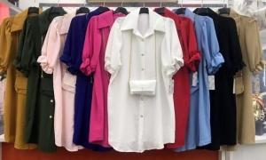 Koszula damska krótki rękaw( standard ) NL2240