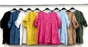 Bluzka damska krótki rękaw - Włoska (Standard) NL7278