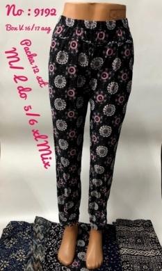 Spodnie alladynki damskie (XL-6XL) NL2876