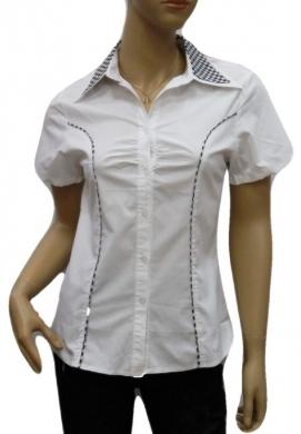 Koszula Damska Bawełniana Kr. Rękaw DW0823