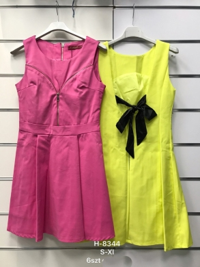 Sukienka damska bez rękaw (S-XL) NL2038