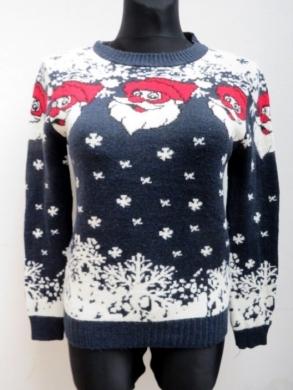 Sweter świąteczne damski (S/M-L/XL) KM11917