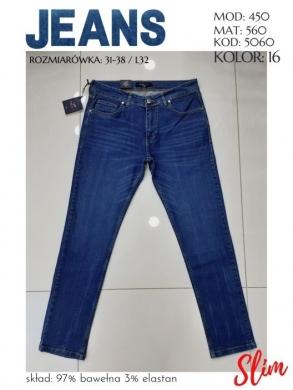 Spodnie jeansowe męskie Tureckie (31-38) NL2175