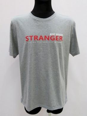 T-shirt męski z krótkim rękawem (M-3XL) KM16679