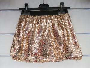 Spódnica świąteczna dziewczęca (4-14) KM12808