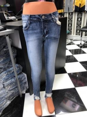 Spodnie Jeansowe Dziewczęce (4-12) TP518