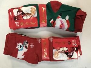 Skarpety świąteczne damskie (36-39) KM13152
