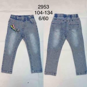 Spodnie Jeansowe Dziewczęce (104-134) TP515