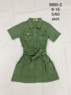 Sukienka dziewczęca krótki rękaw (8-16) TP536