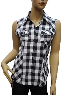 Koszula Damska Bawełniana Kr. Rękaw H-W07-000030