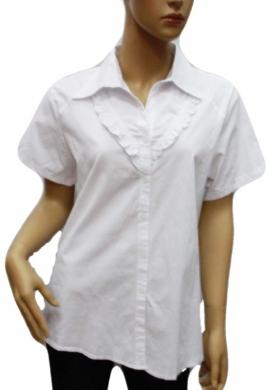 Koszula Damska Bawełniana Kr. Rękaw DW0835