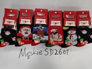 Skarpety świąteczne męskie (39-46) KM12951