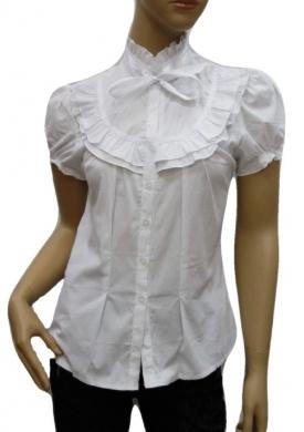 Koszula Damska Bawełniana Kr. Rękaw DW0832