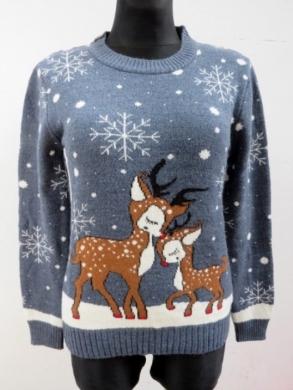 Sweter świąteczne damski (S/M-L/XL) KM11922
