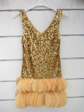 Sukienka świąteczna dziewczęca (4-14) KM12790