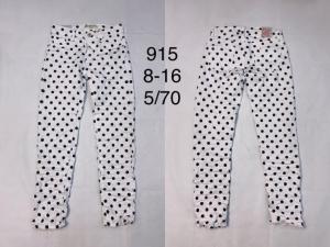 Spodnie materiałowe dziewczęce (8-16) TP533