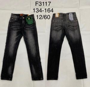 Spodnie jeansowe chłopięce (134-164) TP493