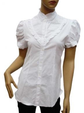 Koszula Damska Bawełniana Kr. Rękaw DW0813