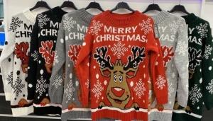 Sweter świąteczne damskie (standard) KM13344