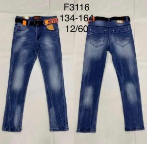 Spodnie jeansowe chłopięce (134-164) TP492