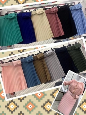 Spódnice damskie materiałowe (standard) NL2246
