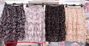Spódnice damskie materiałowe (standard) NL2252