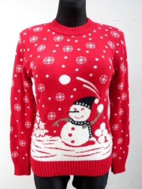Sweter świąteczne damski (S/M-L/XL) KM11918