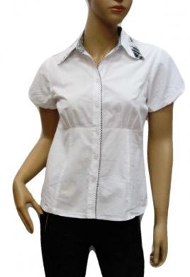 Koszula Damska Bawełniana Kr. Rękaw DW0816