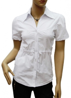 Koszula Damska Bawełniana Kr. Rękaw DW0831