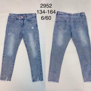 Spodnie Jeansowe Dziewczęce (134-164) TP514
