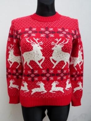 Sweter świąteczne damski (S/M-L/XL) KM11923