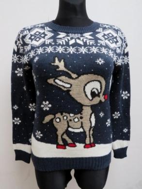 Sweter świąteczne damski (S/M-L/XL) KM11915