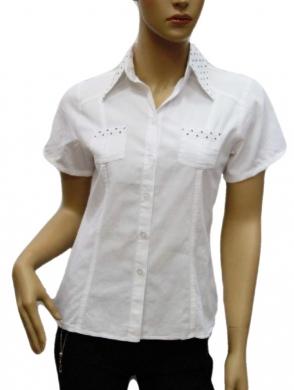 Koszula Damska Bawełniana Kr. Rękaw DW0809