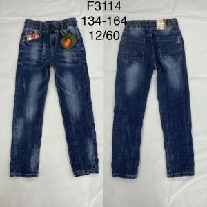 Spodnie jeansowe chłopięce (134-164) TP499