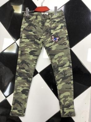 Spodnie Jeansowe Dziewczęce (4-14) TP505