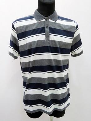 T-shirt męski z krótkim rękawem (2XL-4XL) KM16672