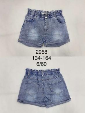 Spodenki dziewczęce (134-164) TP431
