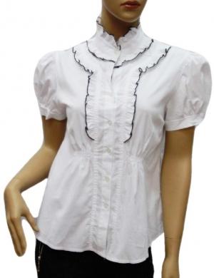 Koszula Damska Bawełniana Kr. Rękaw DW0811